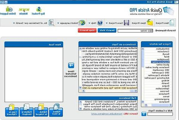 free article builder software